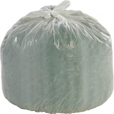 Biodegradeble Trash Bag Heavy Duty Extra Large Outdoor, 55 gal, 36IN X 58IN X 0.85MIL