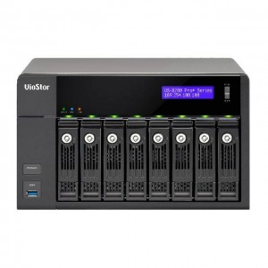 Cloud Monitor QNAP VS-8232-PRO+-US Intel Core i3-4150 3.5GHz 8-Bay Tower NVR  32 Cameras for SMB