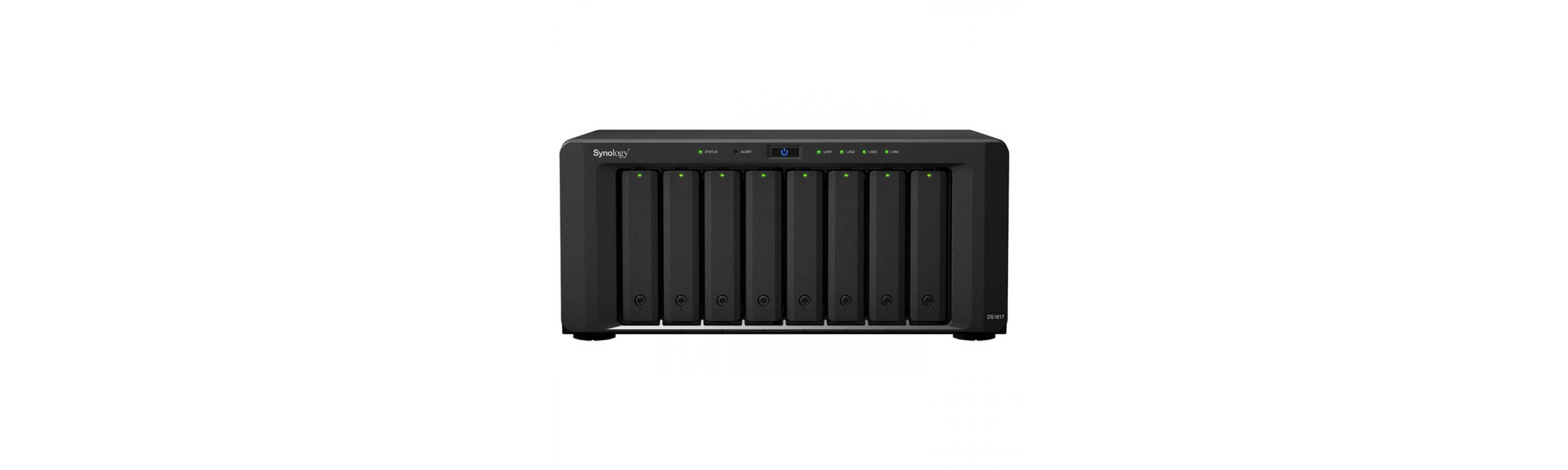 Cloud Synology DiskStation DS1817 8-Bay Desktop NAS For SMB