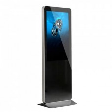 Indoor Floor Standing LCD Advertising Player 98 Inch