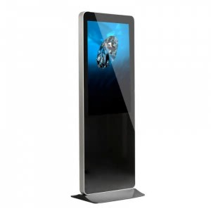 LCD Display Indoor Floor Standing LCD Advertising Player