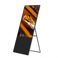 Portable  LCD Digital Signage  digital signage advertising printing 55 inchs