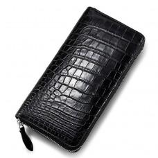 Handbag HDCLS2021  Jing Liang Ladies's Aligator Leather Wallet Black  (24pcs per case)