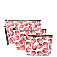 Cosmetic Bag (24pcs per case) CC00181  Cute Printed 3 Pieces Set