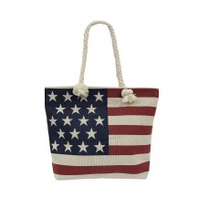 Hangbag  YA02 American Flag Tote Bag (36pcs Per Case)