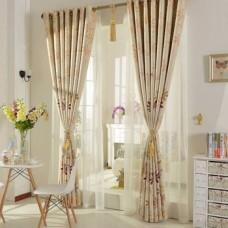 Curtain Jacquard Royal and European Lace Style Curtain