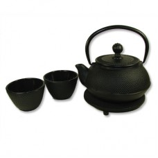 Cast Iron, Japanese Style, Tea Set Cast Iron