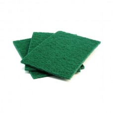 Scouring Pads, H/Duty, 4/PK