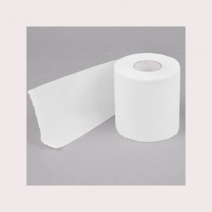 Disposable Biodegradable Natural Pulp Fiber Bathroom Toilet Tissue