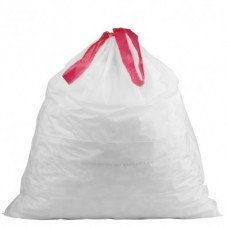 Trash Bag Drawstring, Waste Basket, 8gal/15ct